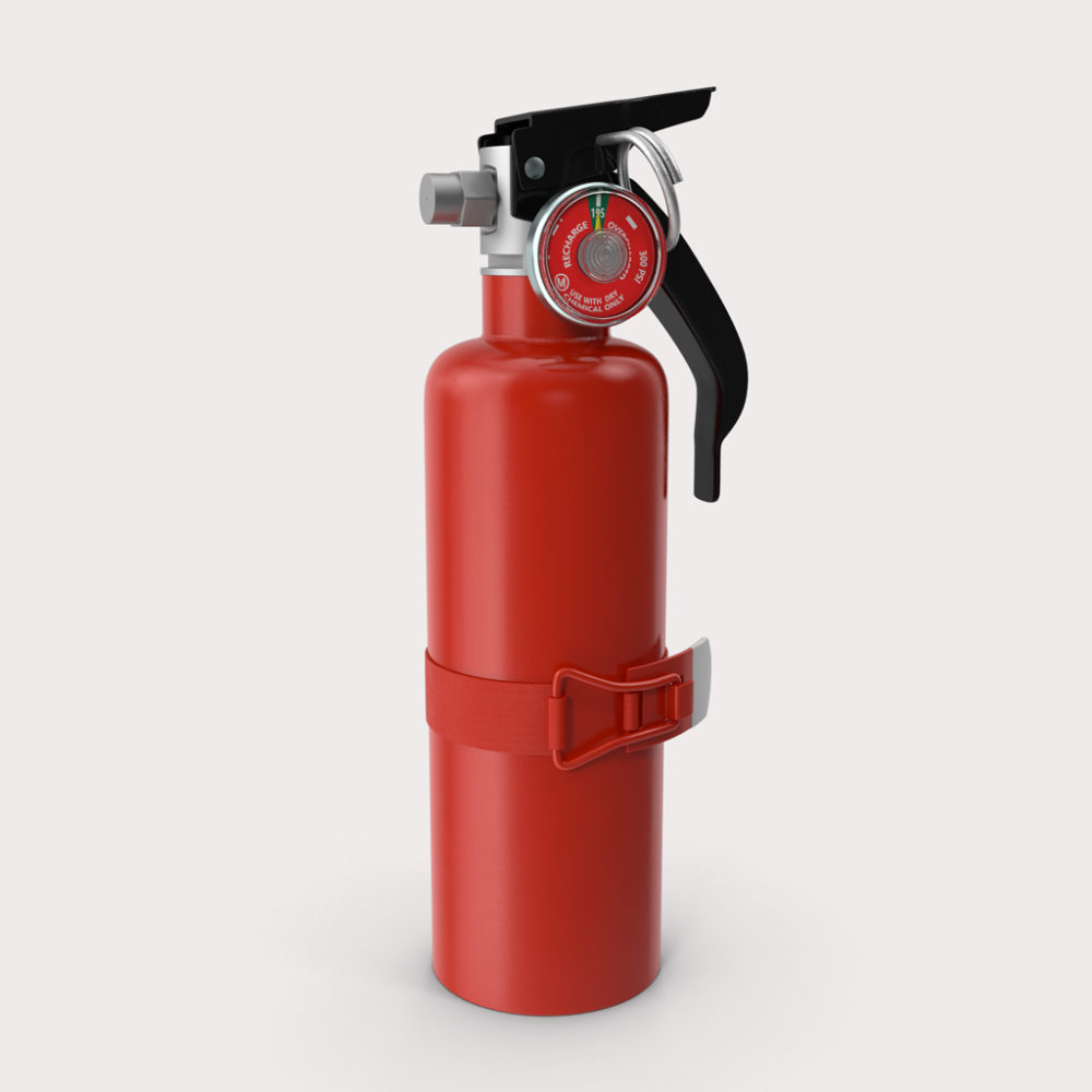 Extinguisher CO2 3.5kg 5BE