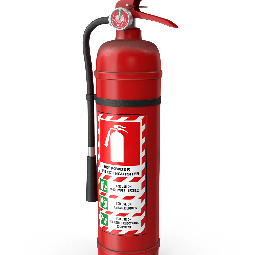 Extinguisher DCP 1.0kg 1A:20BE